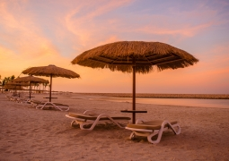 Sunset Salalah beach