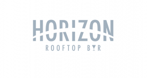 Horizon rooftop bar logo