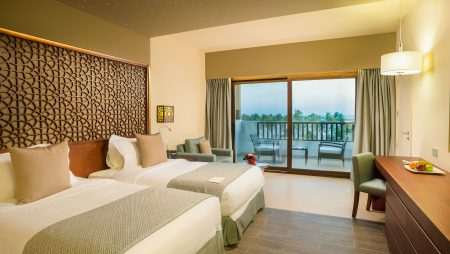 Take in the View of the Salalah Marina in Your Very Own Spacious Suite
