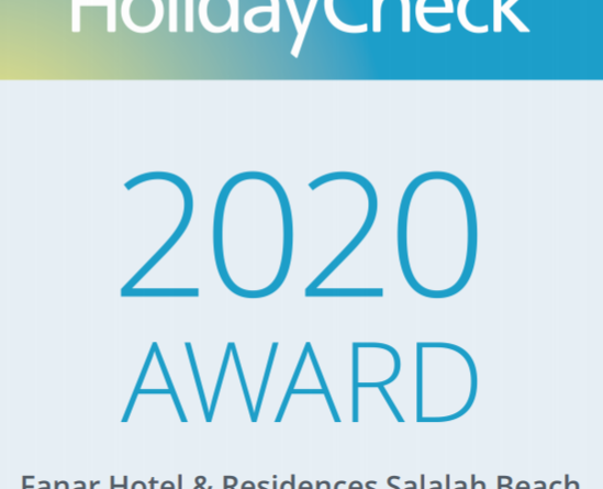 HolidayCheck Award 2018 & 2020